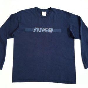 Vintage Nike Long Sleeve T Shirt Mens Large